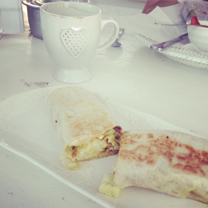 Best Breakfast Burrito at Zwart Cafe